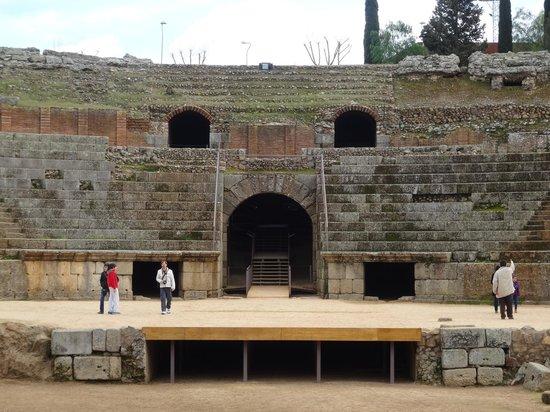 Anfiteatro Romano de Merida: Anfiteatro.