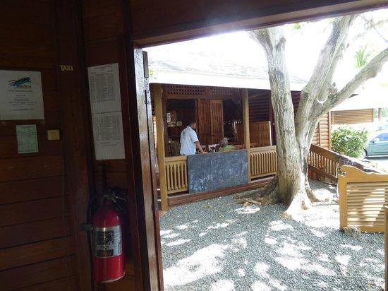 Shepherd's Inn : Reception looking out