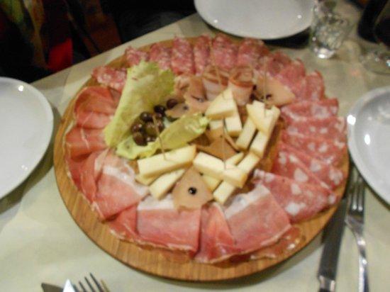 L'Oste di Lucca: Misto salumi