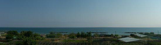 B&B Falcone: Panorama dal b&b