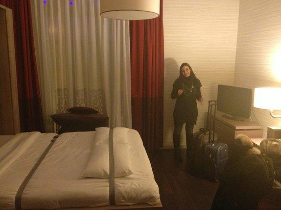 Adagio Brussels Grand Place: divano letto aperto