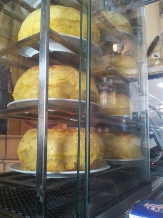 Bar Santos : Tortilla de patatas