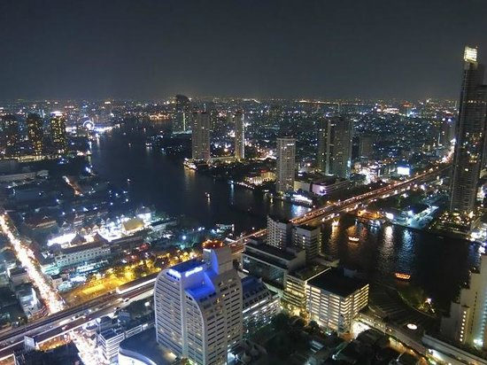 Tower Club at Lebua: View from 57th floor