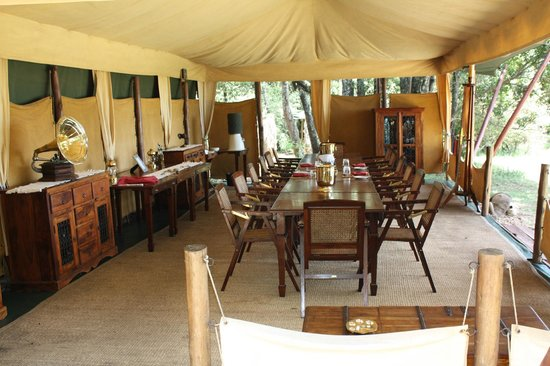 Elephant Pepper Camp: Dining Tent