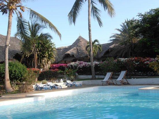 Dorado Cottage: piscina davanti camera