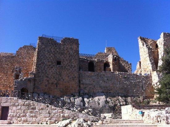 Ajlun Castle (Qala'at ar-Rabad) : Castello