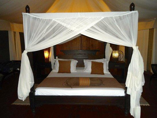 Masek Tented Camp: interno tenda