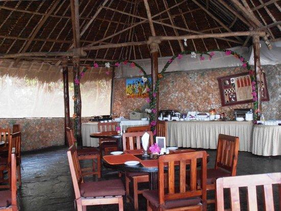 Dorado Cottage: sala ristorante