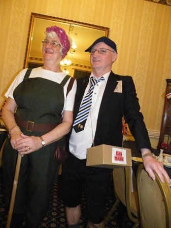 St. Kilda Hotel: The theme was evsacues from the 2nd world war Ron & Ann as evacues