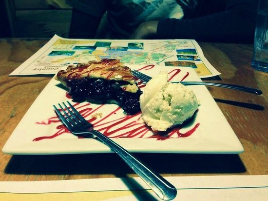 Foster's Family Steak House : Cherry Pie, Absolutely Heavenly