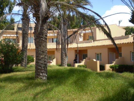 Hotel Royal Suite: Camere vista giardino 2