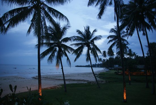 Samui Beach Village Resort : Stimmung am Abend