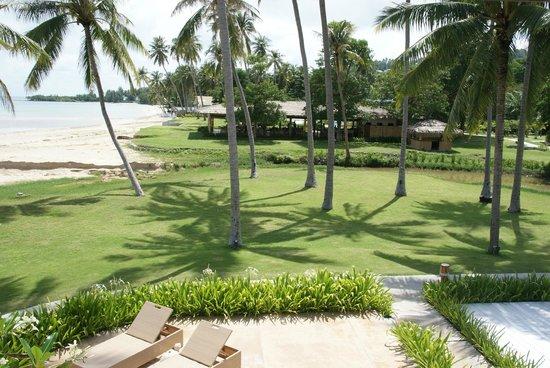 Samui Beach Village Resort : Sonnenschein