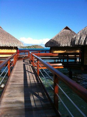Maitai Polynesia Bora Bora: pilotis