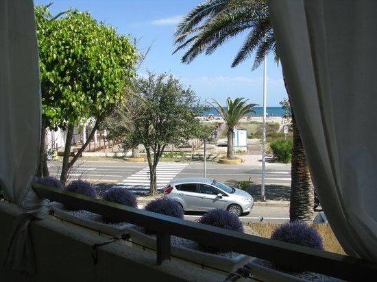 Garni Vento di Sabbia: вид на пляж