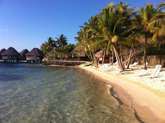 Maitai Polynesia Bora Bora: plage maitai