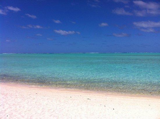 Maitai Polynesia Bora Bora: plage de matira