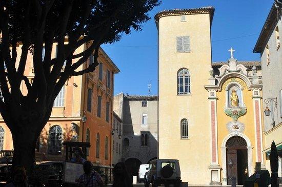 Ville medieval : Cathédrale de Vence