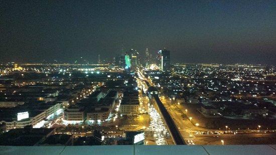 Park Regis Kris Kin Hotel: View from the top
