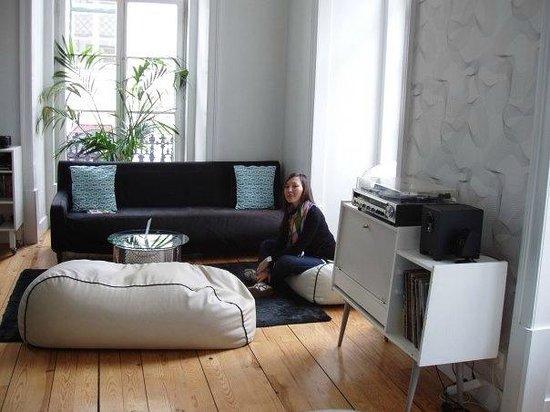 Lisbon Lounge Hostel: общая зона