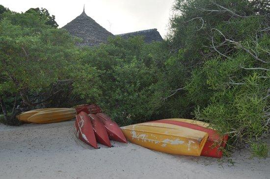 The Sands At Chale Island: Водные развлечения - каноэ и каяки