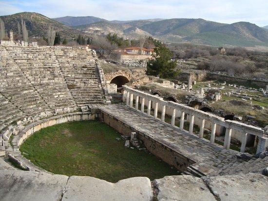 Aphrodisias : Afrodisias Theatre