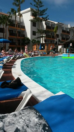 Area de piscina climatizada