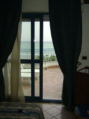 Hotel Ascot: ..il terrazzo..