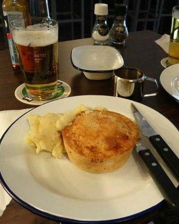 Pieminister: my pie with mash