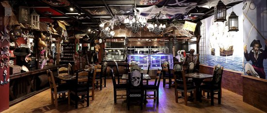 Pirates of Istanbul: Pirate Restaurant