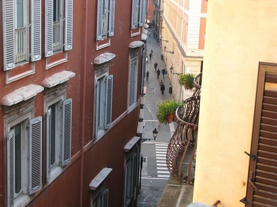 Albergo Cesari: from the roof top terrace