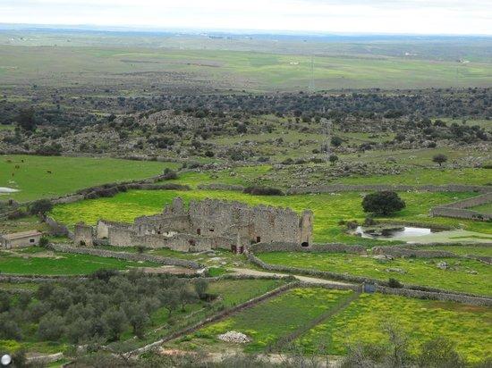 Castillo de Trujillo (Trujillo Castle) : Vistas desde las inmediaciones del castillo