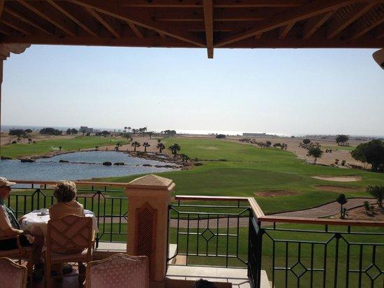The Westin Soma Bay Golf Resort & Spa: breakfast terrace