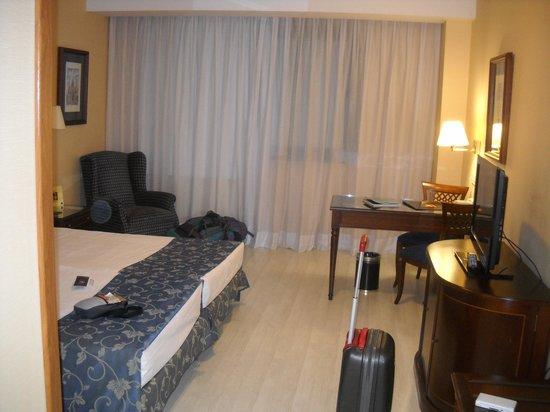 Madrid Marriott Auditorium Hotel & Conference Center : Habitacion