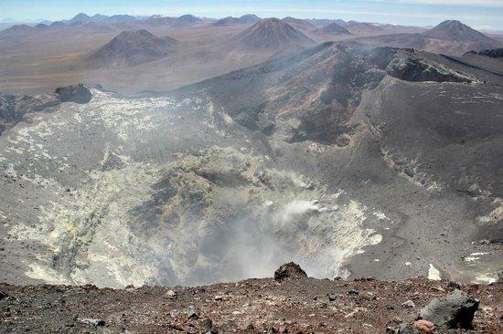 San Pedro de Atacama, Chile: Cratera