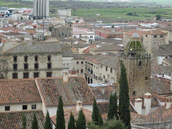 Castillo de Trujillo (Trujillo Castle) : El pueblo desde el castillo