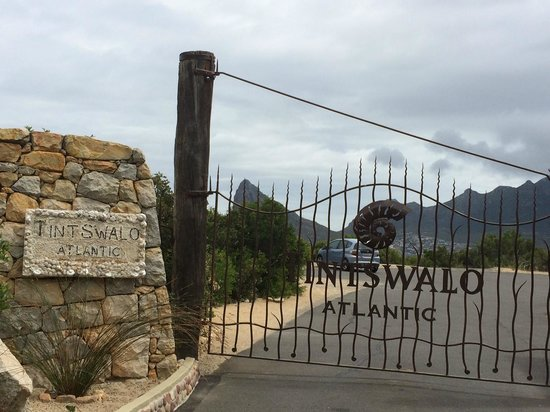 Tintswalo Atlantic: Entrance Gate