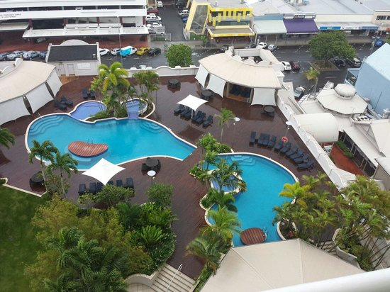 Pullman Cairns International: View from Room 1324