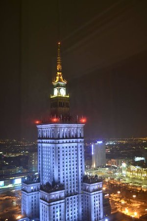 InterContinental Hotel Warsaw: View from our room