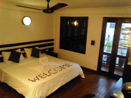 Cinnamon Hotel Saigon: ウエルカム