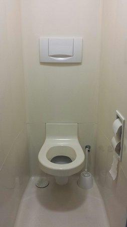 Ibis Budget Senlis : Toilette d'une chambre Ibis Budget