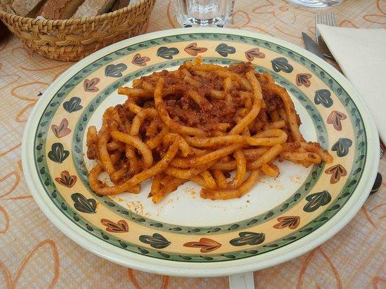Antico Travaglio - Osteria Gelateria: pici