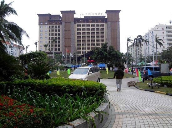 Timton International Hotel: Городской фасад