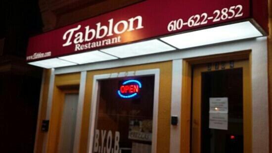 Tabblon Restaurant: Tabblon night