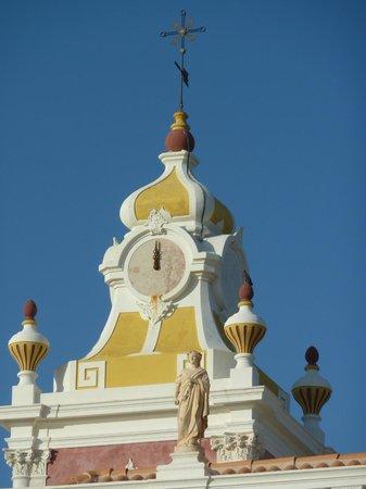 Pousada Palacio de Estoi : Clock tower