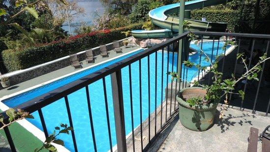 Hotel Posada de Don Rodrigo Panajachel : piscina