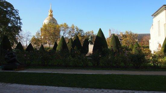 Musée Rodin : 'O Pensador' e vista de parte dos jardins