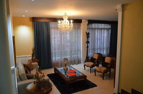 Hotel Le Manoir Bogota : Sala de Estar