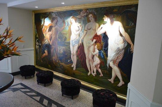 Hotel Le Manoir Bogota: Decoração