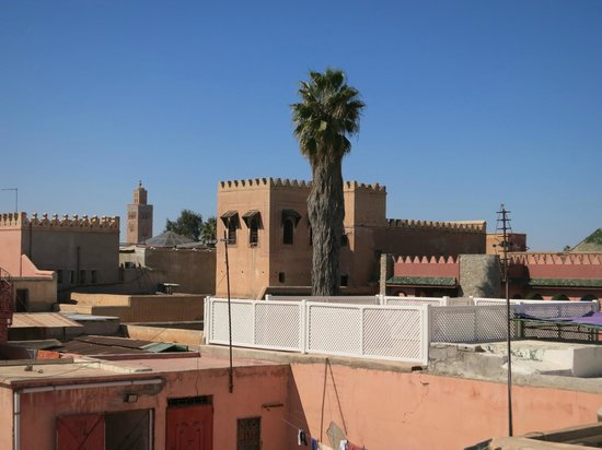 Riad Diana: A view from the roof terrace